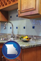 missouri a granite countertop