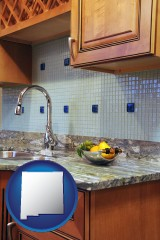 new-mexico a granite countertop