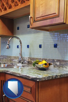 a granite countertop - with Nevada icon